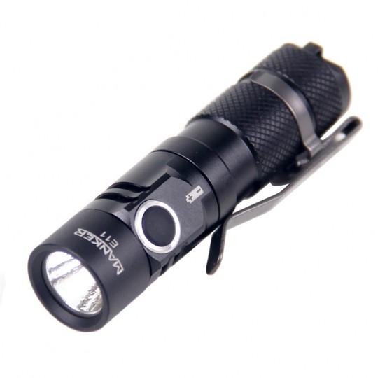 Manker E11 CREE XP-L CW LED 800L Flashlight