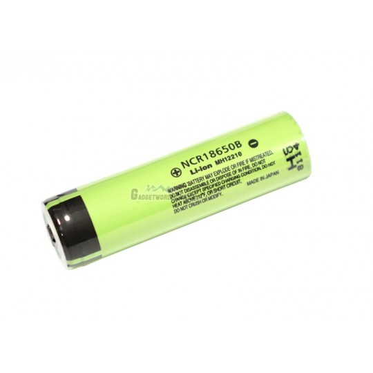 Panasonic NCR18650B / 18650 3400mAh 3.7V Li-ion Rechargeable Battery Button Top