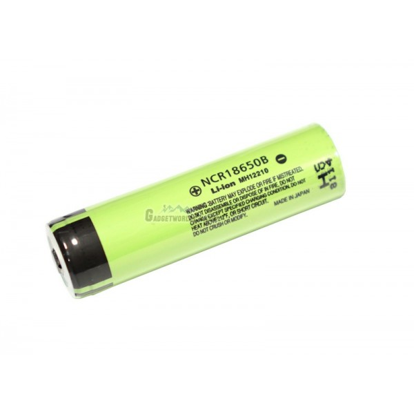 Panasonic NCR18650B / 18650 3400mAh 3.7V Li-ion Rechargeable Battery Button Top