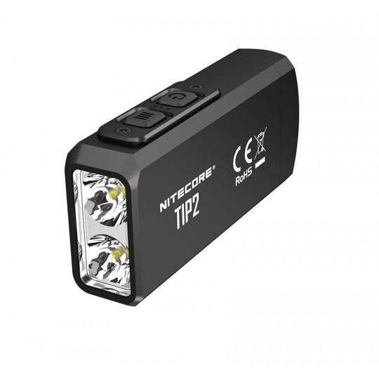 Nitecore TIP2 CREE XP-G3 S3 LED 720L Keychain Rechargeable Flashlight