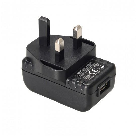 Xtar 5V 2.1A USB 3-pin UK Wall Adapter