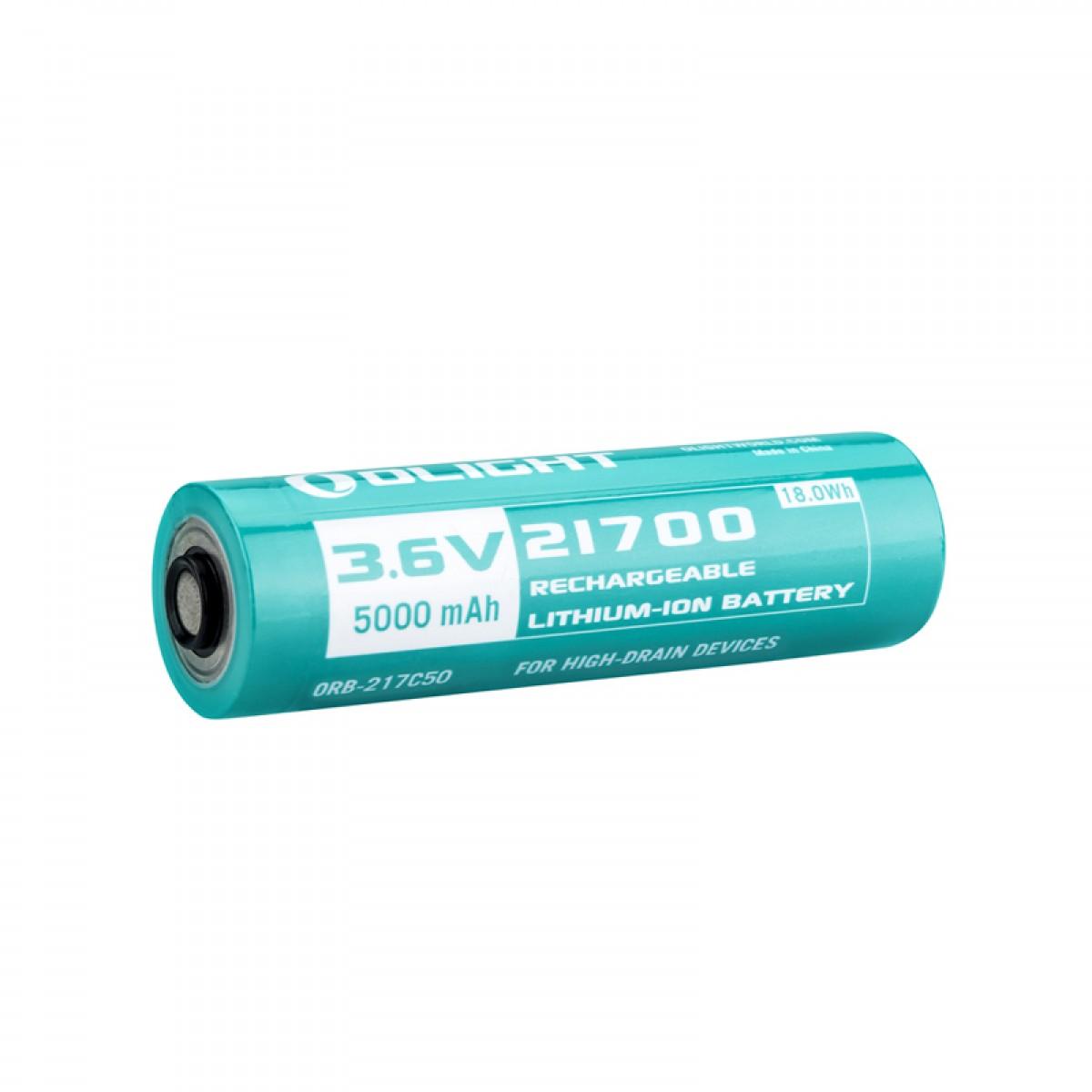Olight Customized 21700 5000mAH Li-ion Battery