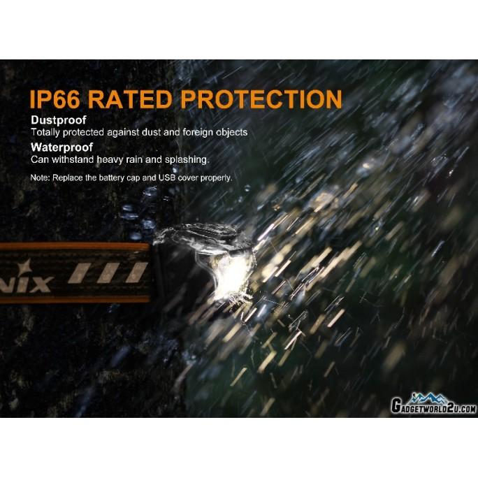 Fenix HL18R CREE XP-G3 Rechargeable 400L Headlamp - Blue