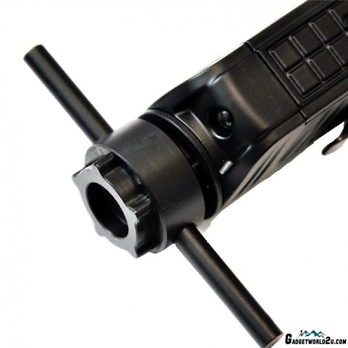 Nitecore P18 Black Stainless Steel Tactical Bezel