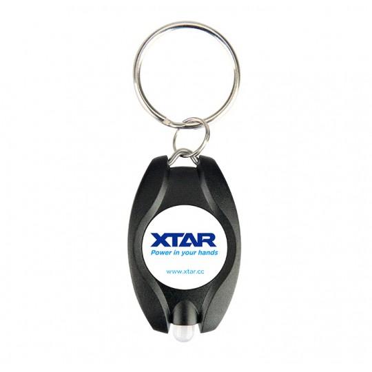 Xtar BUTTON XPK-2 LED Keychain Keyring Light Flashlight - Black