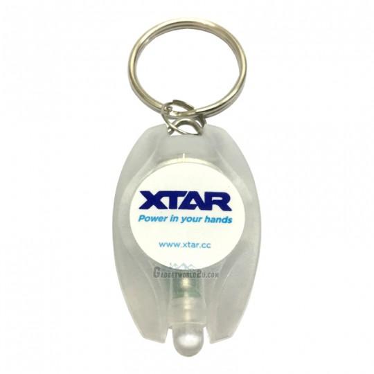 Xtar BUTTON XPK-2 LED Keychain Keyring Light Flashlight - White
