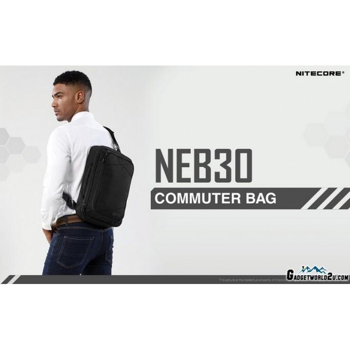 "Nitecore NEB30 14"" Laptop Tablet Commuter Bag"