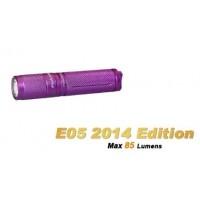 Fenix E05 2014 Edition Cree LED 85 Lumens Flashlight - Purple