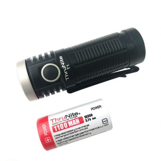 ThruNite T1 CREE XHP50 NW LED 1500L Rechargeable Flashlight