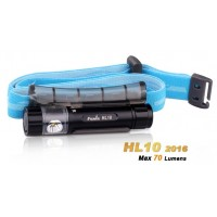 Fenix HL10 2016 PHILIPS LXZ2-5770 LED 70 Lumens Headlamp - Black