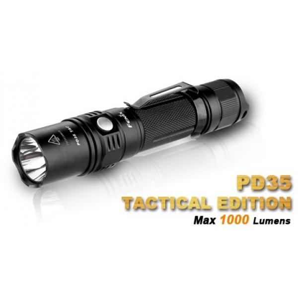 Fenix PD35 TAC CREE XP-L LED 1000 Lumens Flashlight