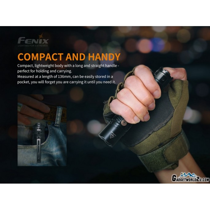 Fenix PD36R Luminus SST-40 LED 1600L Rechargeable Flashlight