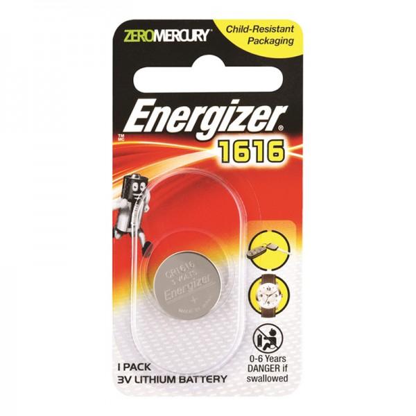 Energizer CR1616 Button Cell Coin 3V Lithium Battery
