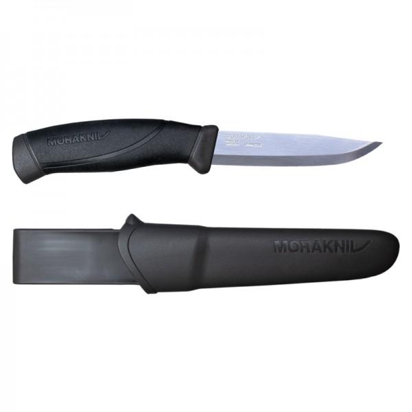 MoraKniv Companion Anthracite Stainless Steel Outdoor Bushcraft Knife