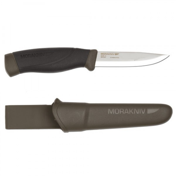MoraKniv Companion Heavy Duty MG (C) Carbon Steel Bushcraft Knife 12210