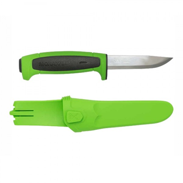 MoraKniv Basic 546 2019 Limited Edition Stainless Steel Utility Knife Green/Black 13451