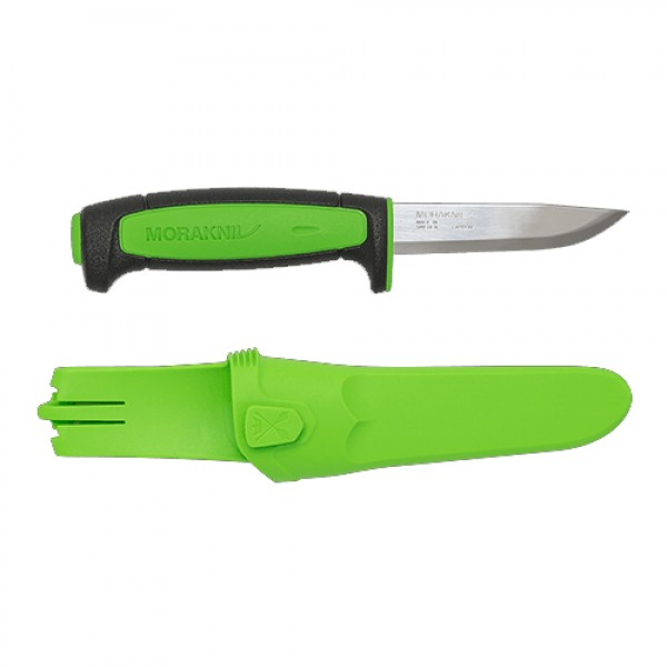 MoraKniv Basic 511 2019 Limited Edition Carbon Steel Utility Knife Black/Green 13466