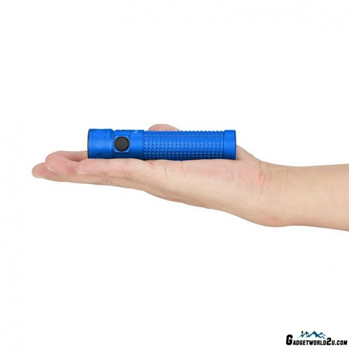 Olight Limited Edition Baton Pro Rechargeable LED 2000L Flashlight Blue