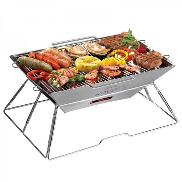 Kovea Magic II Upgrade Stainless BBQ KCG-0901 Cooking Camping Steel Grill