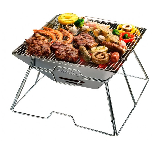 Kovea Magic III Upgrade Stainless BBQ KCG-1503 Cooking Camping Steel Grill