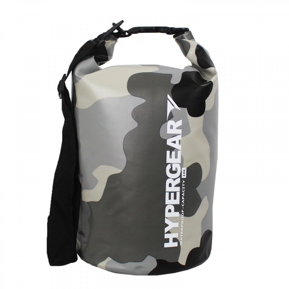 Hypergear Adventure Dry Bag 10 Liter Camo Grey Alpha
