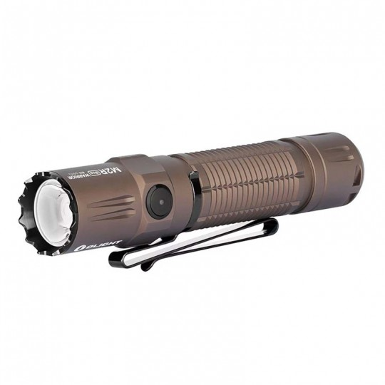 Olight M2R Pro Warrior LED 1800L Rechargeable Flashlight Desert Tan