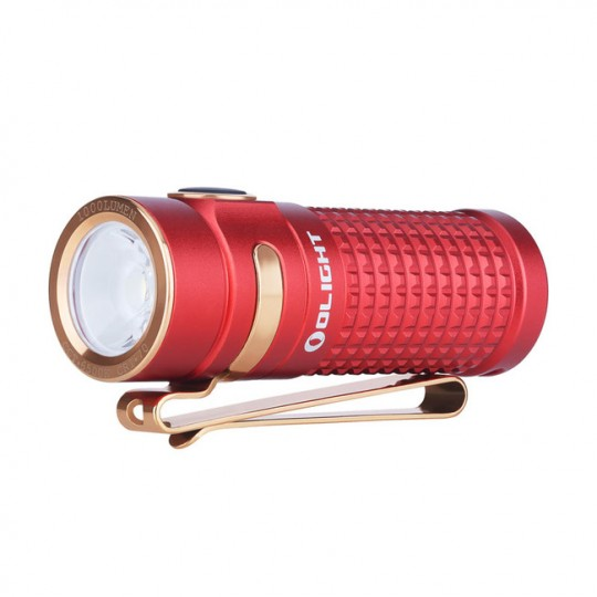 Olight S1R II Baton RED Rechargeable CREE XM-L2 LED 1000L Flashlight