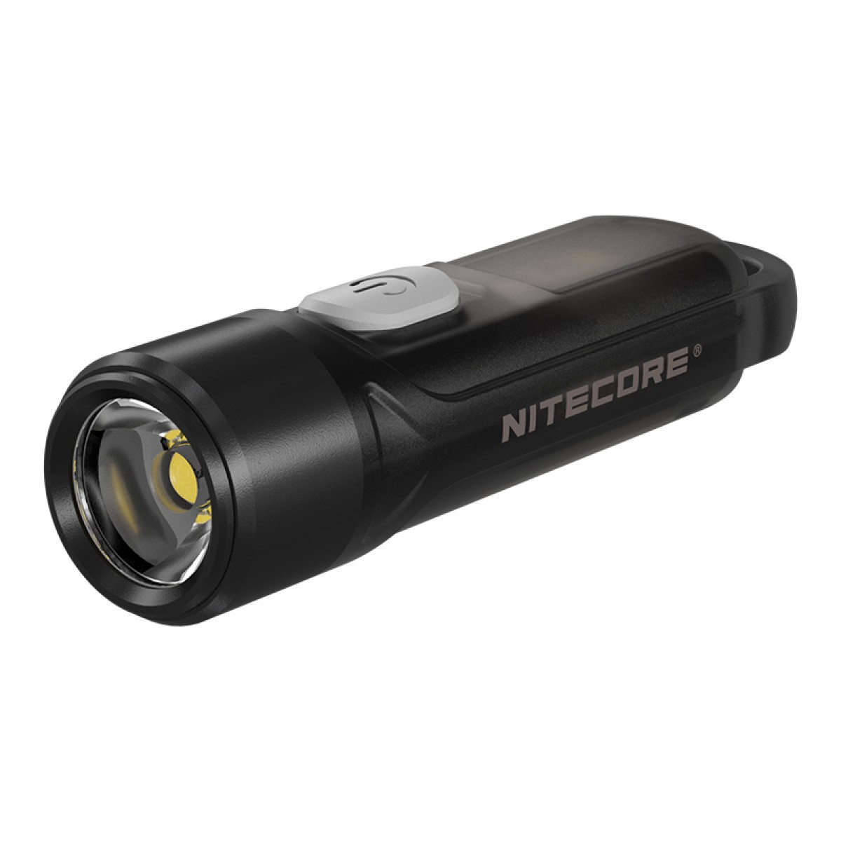 Nitecore TIKI LE w RED & BLUE LED Keychain 300L Rechargeable Flashlight