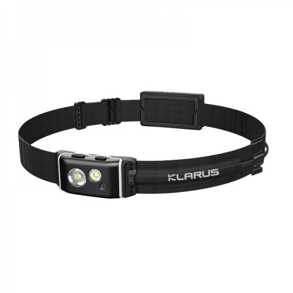 Klarus HR1 Plus CREE XP-G2 LED 600L Rechargeable Headlamp BLACK