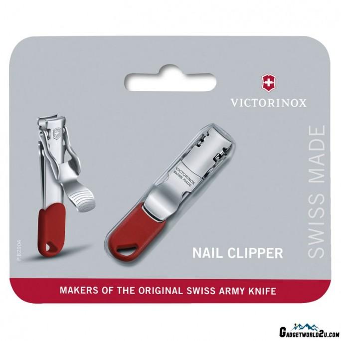Victorinox Nail Clipper Red Keychain 8.2050.B1