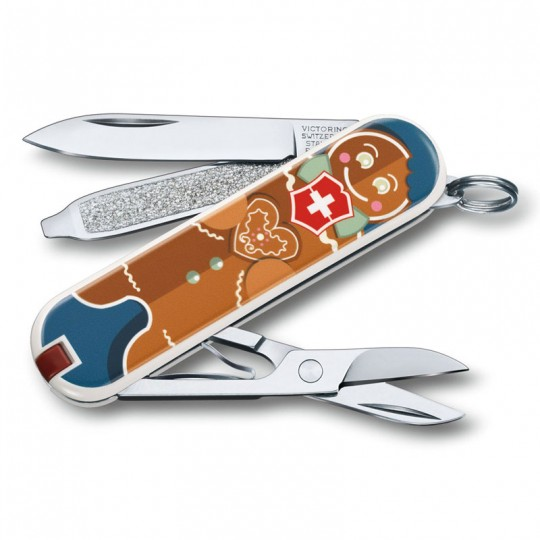 Victorinox Classic Limited Edition 2019 Gingerbread Love Multitool 0.6223.L1909