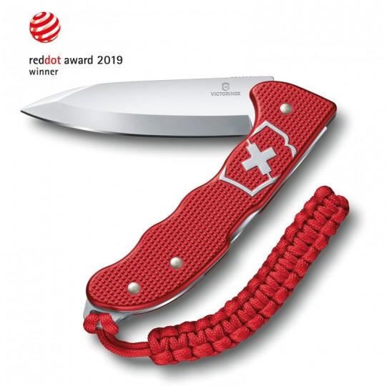 Victorinox Hunter Pro Alox Red Back Lock Folding Knife 0.9415.20