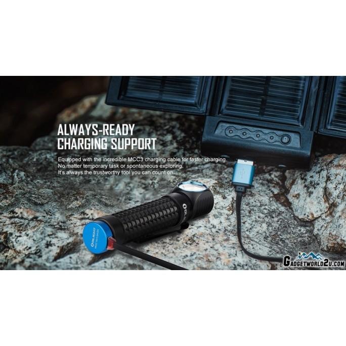 Olight Perun Kit Black CREE XHP50.2 LED 2000L Rechargeable Headlamp