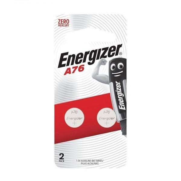 Energizer A76 / LR44 / AG13 / LR1154 / 157 / 303 / 357 Alkaline 1.5V Battery