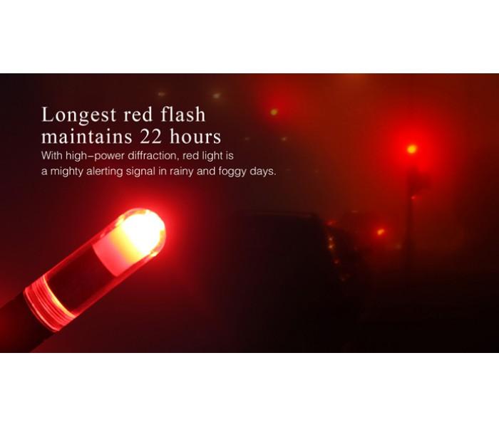 Fenix Cl05 Liplight Edc Tri Colour 8 Lumens Safety Emergency Light Purple
