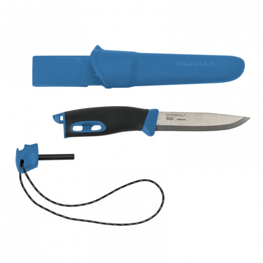 MoraKniv Companion Spark Blue (S) Bushcraft Knife 13572