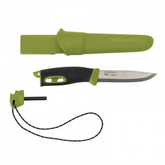 MoraKniv Companion Spark Green (S) Bushcraft Knife 13570