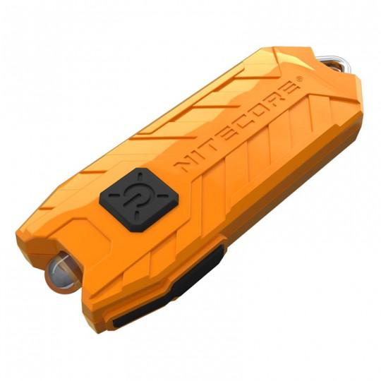 Nitecore TUBE V2.0 Orange LED Keychain 55L Rechargeable Flashlight