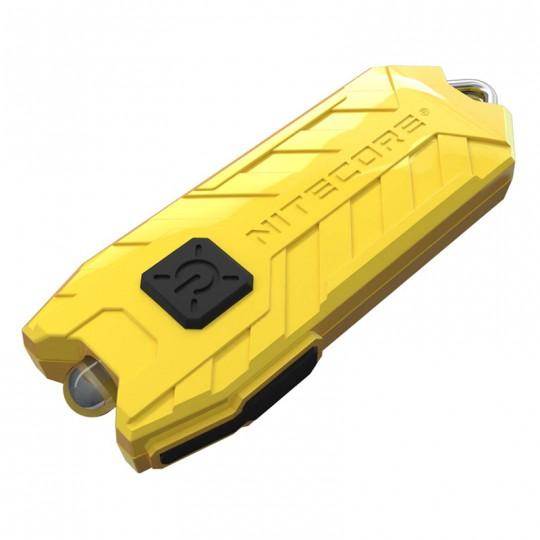 Nitecore TUBE V2.0 Lemon LED Keychain 55L Rechargeable Flashlight