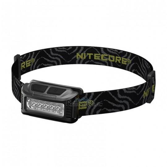 Nitecore NU10 Black USB Rechargeable Headlamp