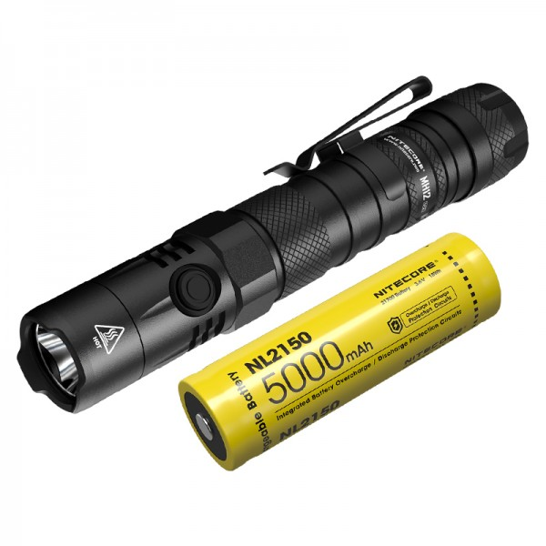 Nitecore MH12 V2 CREE XP-L2 V6 LED 1200L Rechargeable Flashlight