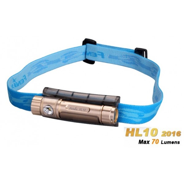 Fenix HL10 2016 PHILIPS LXZ2-5770 LED 70 Lumens Headlamp - Gold