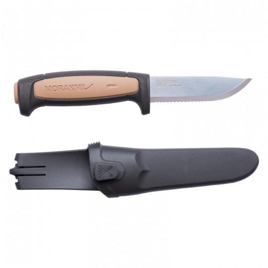 MoraKniv Rope (S) Serrated Utility Construction Knife 12245