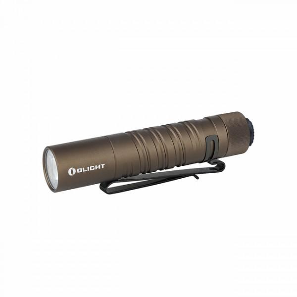 Olight I5T EOS Desert Tan Dual-Output Luxeon TX CW LED 300L Flashlight