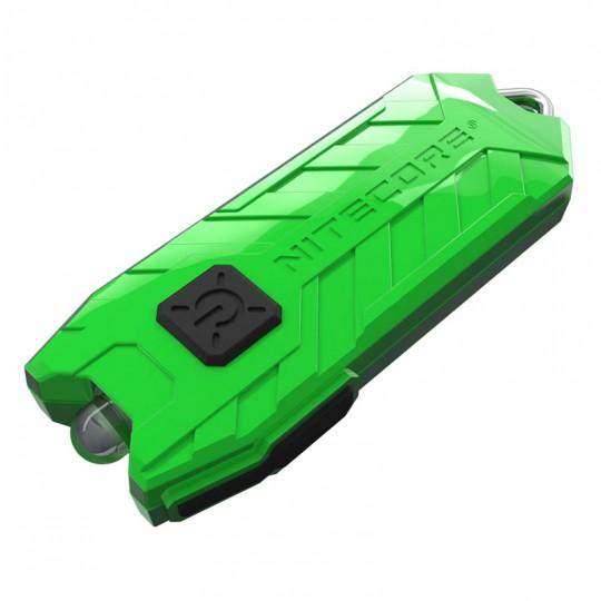Nitecore TUBE V2.0 Green LED Keychain 55L Rechargeable Flashlight