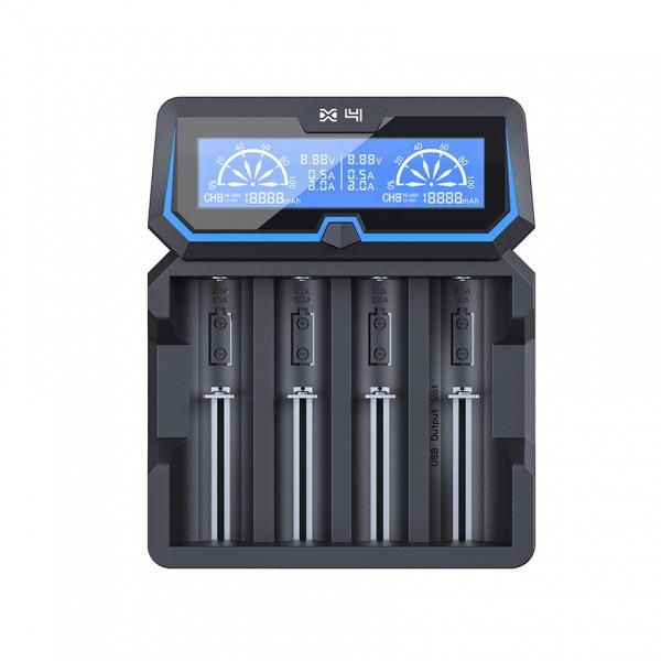 Xtar X4 Dual Input NiMh / 3.6V / 3.7V Li-ion Battery Charger