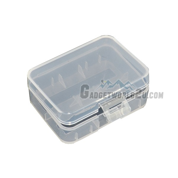 Battery Storage Case for 2x 18500 or 18490 / 2x 18350 Battery