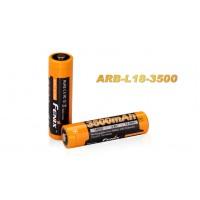 Fenix 18650 3.6/3.7V 3500mAh Li-ion Rechargeable Battery ARB-L18-3500