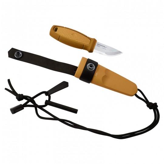 MoraKniv Eldris Yellow w Fire Kit (S) Outdoor Bushcraft Knife 12632