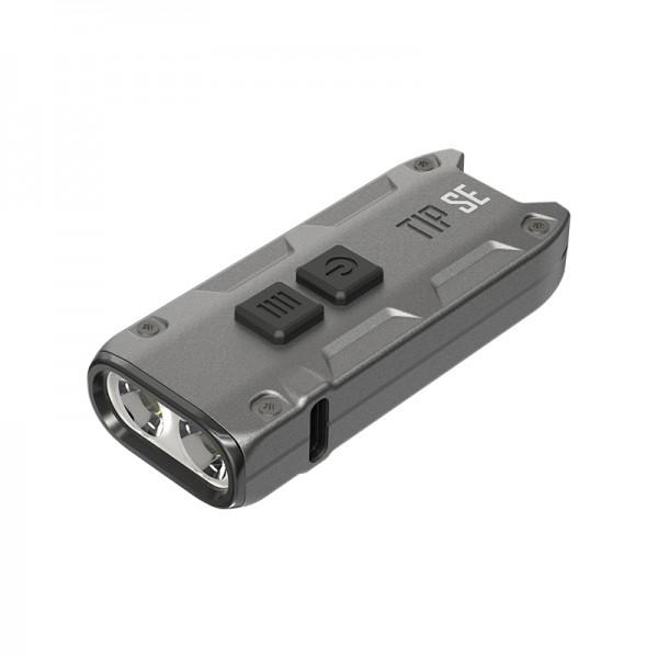 Nitecore TIP SE GREY OSRAM P8 LED 700L Keychain Rechargeable Flashlight